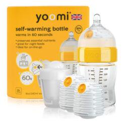 8oz Bottle /2 x Warmer/Teat/Pod 2019 - Y18B2W1P-kojenecká láhev, 2x ohřívač, savička a nádoba na ohřívač
