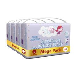 Klasik Mega Pack L-jednorázové pleny 8-12kg