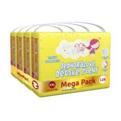 Klasik Mega Pack XXL-jednorázové pleny 13-25kg