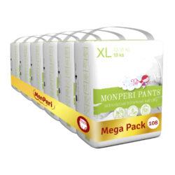 Pants Mega Pack XL-jednorázové kalhotky 13-18 kg