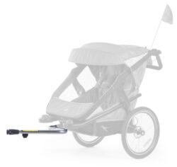 stroller hinge bicykle clutch T-006-Velo-úchyt ke kočárku Joggster Velo