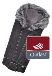 fusak DeLuxe Outlast 2020 černá/stříbrný prošev/šedá-fusak