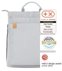 Green Label Tyve Backpack grey-taška na rukojeť