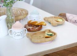 Platter Bamboo Wood Chums Dog(7305.001)