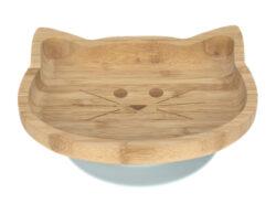 Platter Bamboo Wood Chums Cat-mistička