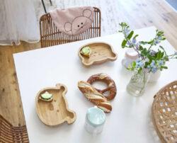 Platter Bamboo Wood Chums Cat(7305.002)