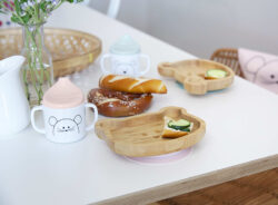 Platter Bamboo Wood Chums Mouse(7305.003)