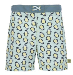 Board Shorts Boys 2019 penguin mint 12 mo.-plavky