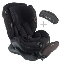 iZi Plus X1 Premium Car Interior Black-autosedačka 0-25 kg