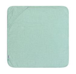 Muslin Hooded Towel mint-ručník s kapucí