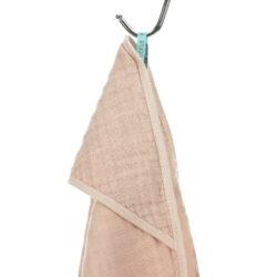 Muslin Hooded Towel light pink(7311.003)