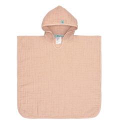 Muslin Poncho light pink-pončo