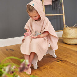 Muslin Poncho light pink  (7312.003)