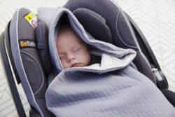 Baby Wrap light grey star(6677.003)