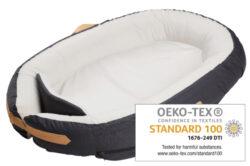 Baby Nest Premium dark grey-hnízdečko