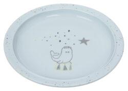 Plate Melamine/Silicone More Magic seal-dětský talíř