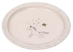 Plate Melamine/Silicone More Magic horse-dětský talíř