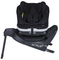 iZi Twist B i-Size Premium Car Interior Black-autosedačka 40-105 cm