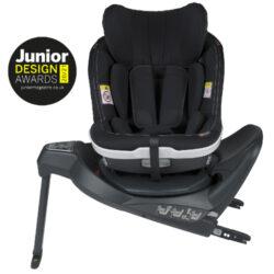 iZi Turn i-Size Premium Car Interior Black-autosedačka 61-105 cm