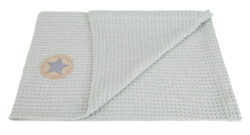 deka vafle 70x100 lišejník-deka