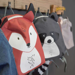 Tiny Backpack About Friends racoon(7157T.02)